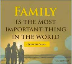 FAMILY ALWAYS BE FIRST