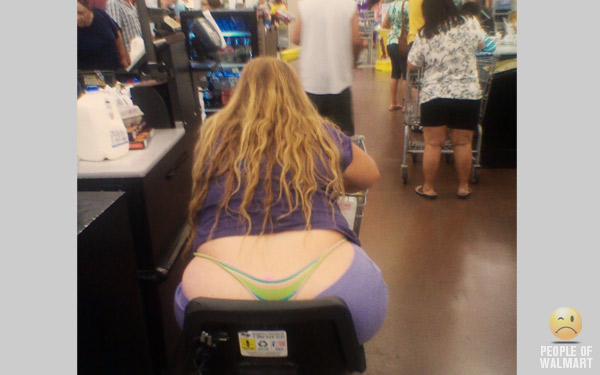No mystery here, that thong is definitely working overtime. Chances