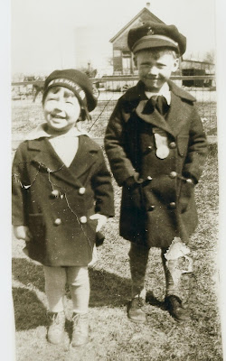 Bill Williams with his cousin, Arvis in 1928, check out the incredible ...