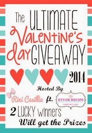 Rini Cessilia Valentine Day Giveaway ft Etude Recipe