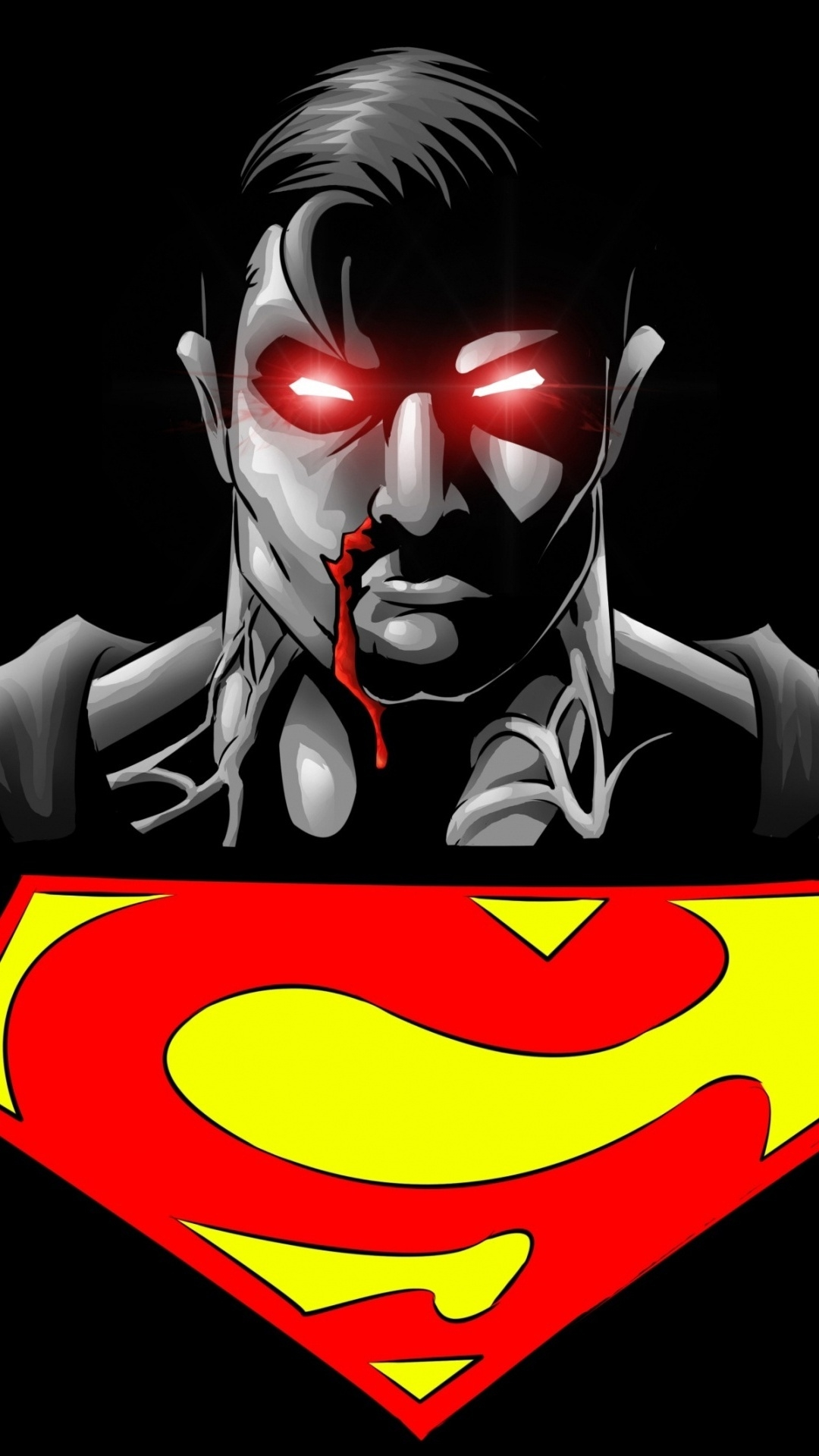 Simple   Wallpaper Home Screen Superhero - superman-superhero-black-background-android-best-wallpaper  2018_299981.jpg