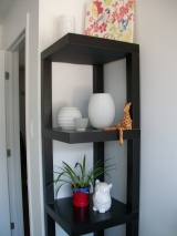 IKEA Hack: Corner Shelf