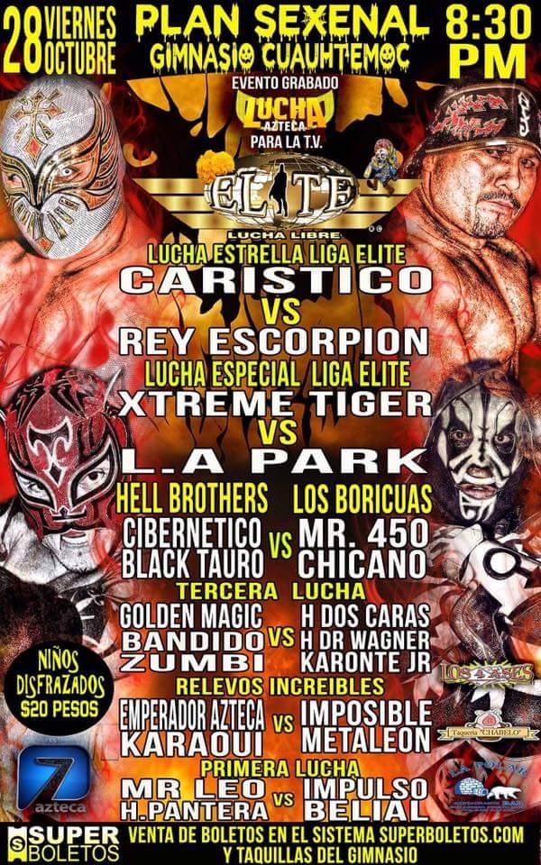Elite y Lucha Azteca