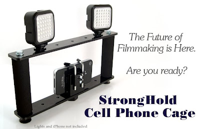 Cell Phone Filmmaking Hand Grip