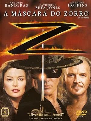 Filme A Máscara Do Zorro Dublado AVI DVDRip