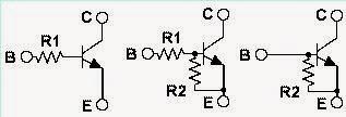 transistores digitales SMD o transistores pre-polarizados