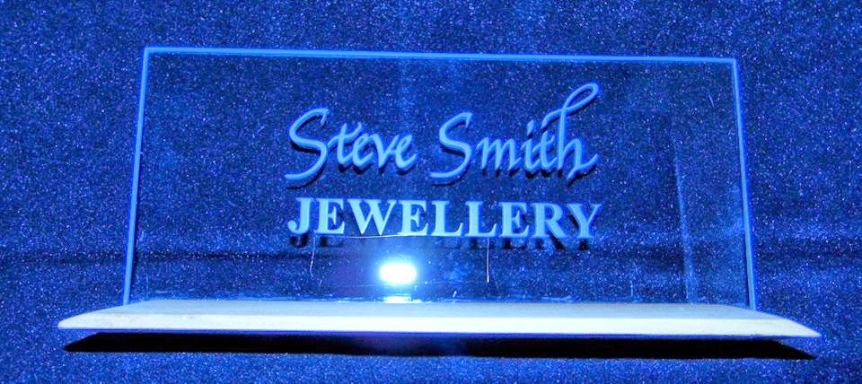 Steve Smith Jewellery shop sign