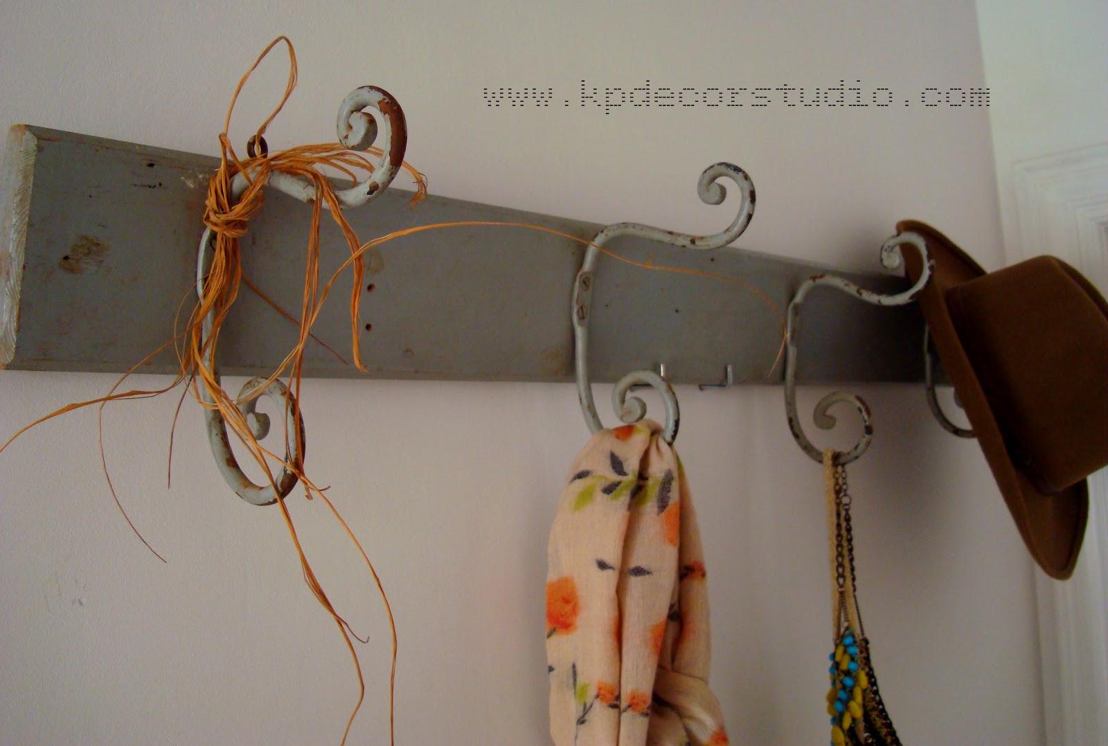 Kp tienda vintage online viejo perchero de madera cuatro - Percheros de pared clasicos ...