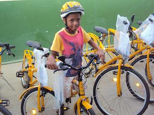 Entrega das Bicicletas