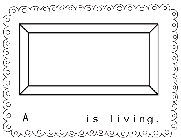 Sarahs First Grade Snippets Living and Nonliving – Living and Nonliving Things Worksheet for Kindergarten