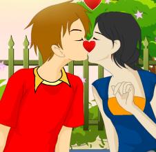 تقبيل عيد الحب