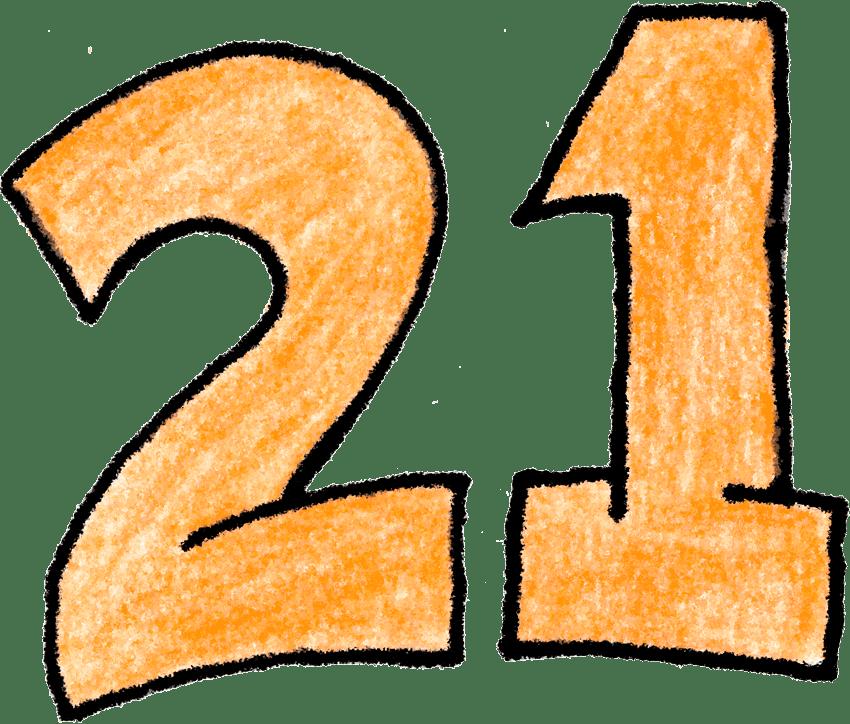 Двадцать одно  21