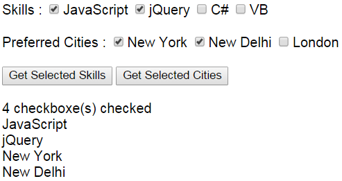 jquery get selected checkbox group value