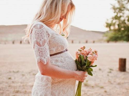 Fotografía nupcial: Novias premamás