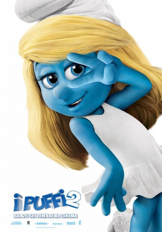The Smurfs 2 character poster