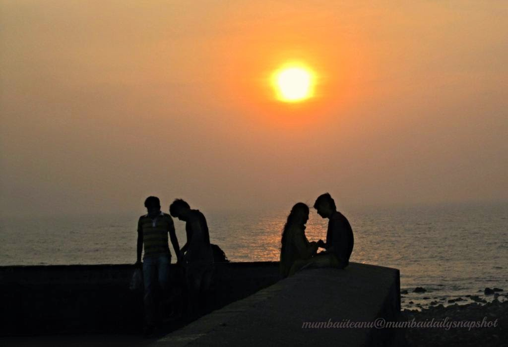 Sunset at Bandra Fort