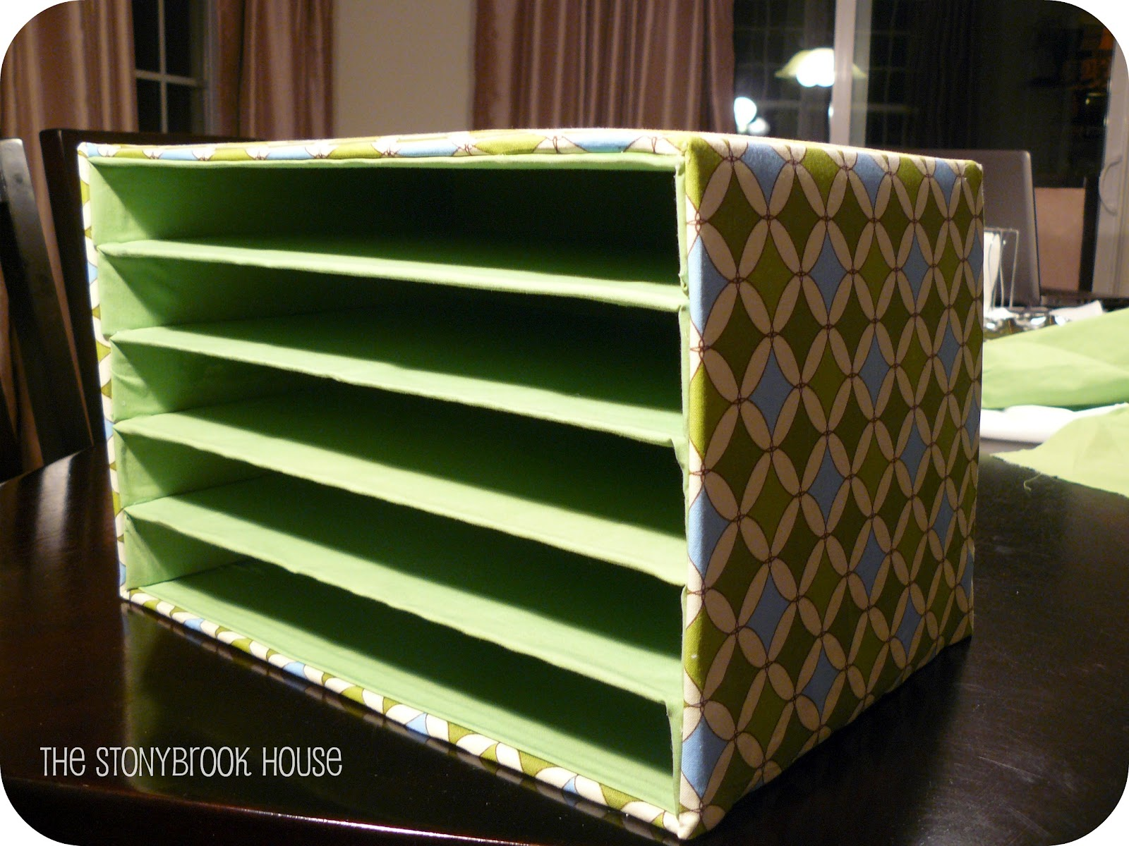 mail organizer diy on the cheap the stonybrook house