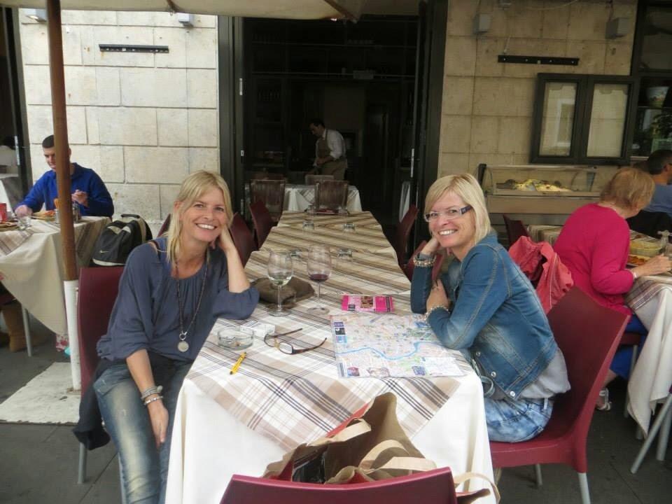 Le sorelle Ellen e Marion.