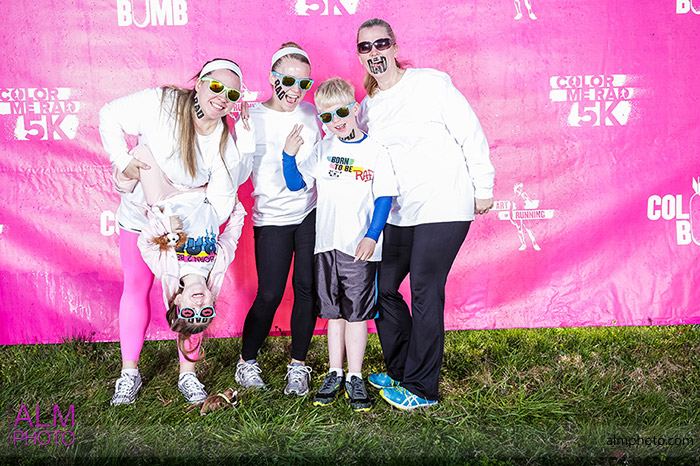 color me rad 5k knoxville tennessee pink color bomb bomb squad