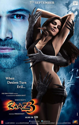 Bipasha Basu's 'RAAZ 3' Hot Poster & Wallpaper