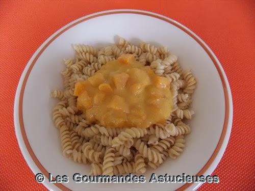 Les gourmandes astucieuses cuisine v g tarienne bio saine et gourmande faite maison sauce - Comment cuisiner potimarron ...