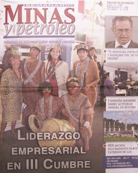 ASHANINKAS EN LIMA EN III CUMBRE DE LIDERES COMUNITARIOS.-