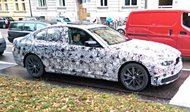 Upcoming G30 BMW 530e hybrid to produce around 280 horsepower