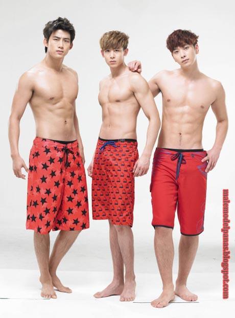 korean muscle men
