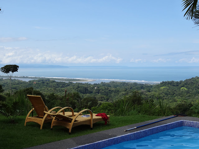 View of the ocean from a house in Ojochal, Costa Rica