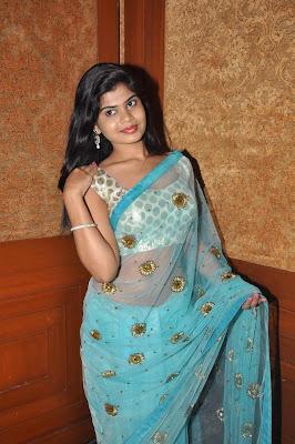 Actress alekhya new photos in saree