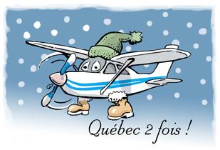 Cessna 182 Québec 2 fois