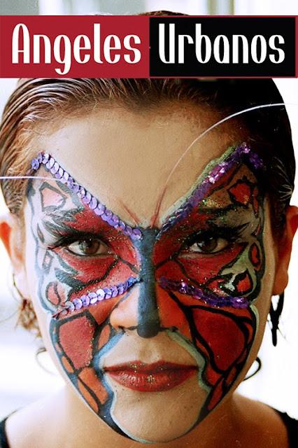 face paint bogota