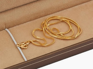 Enjoy Extra 25% Discount on 22Kt Gold Chains at HomeShop18