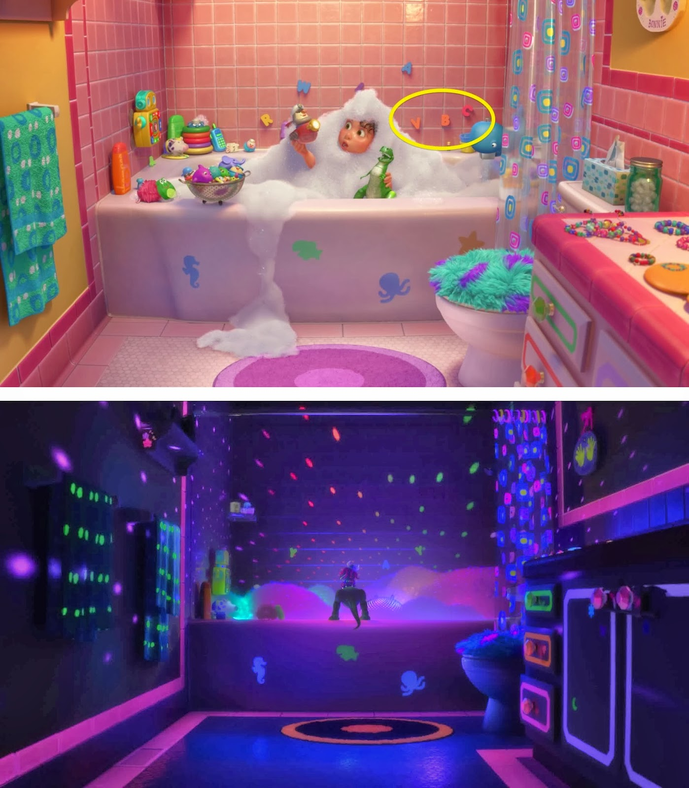 Monster bathroom