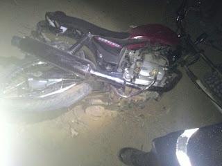 Homem perde controle de moto e morre em acidente na zona rural de Cuité