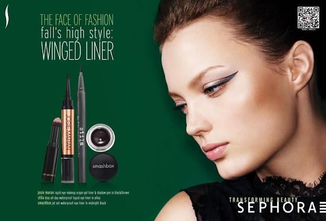 Sephora Advertisement Sephora Fall/Wi...