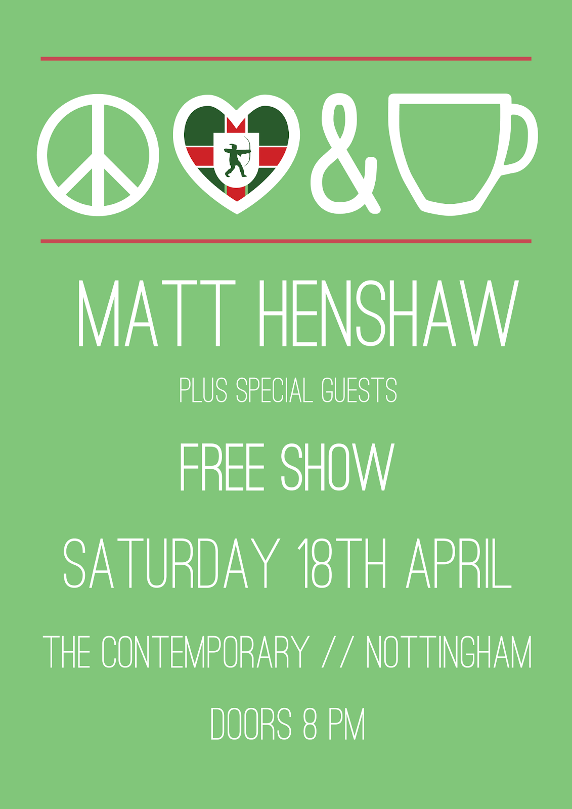 matt henshaw live in nottingham