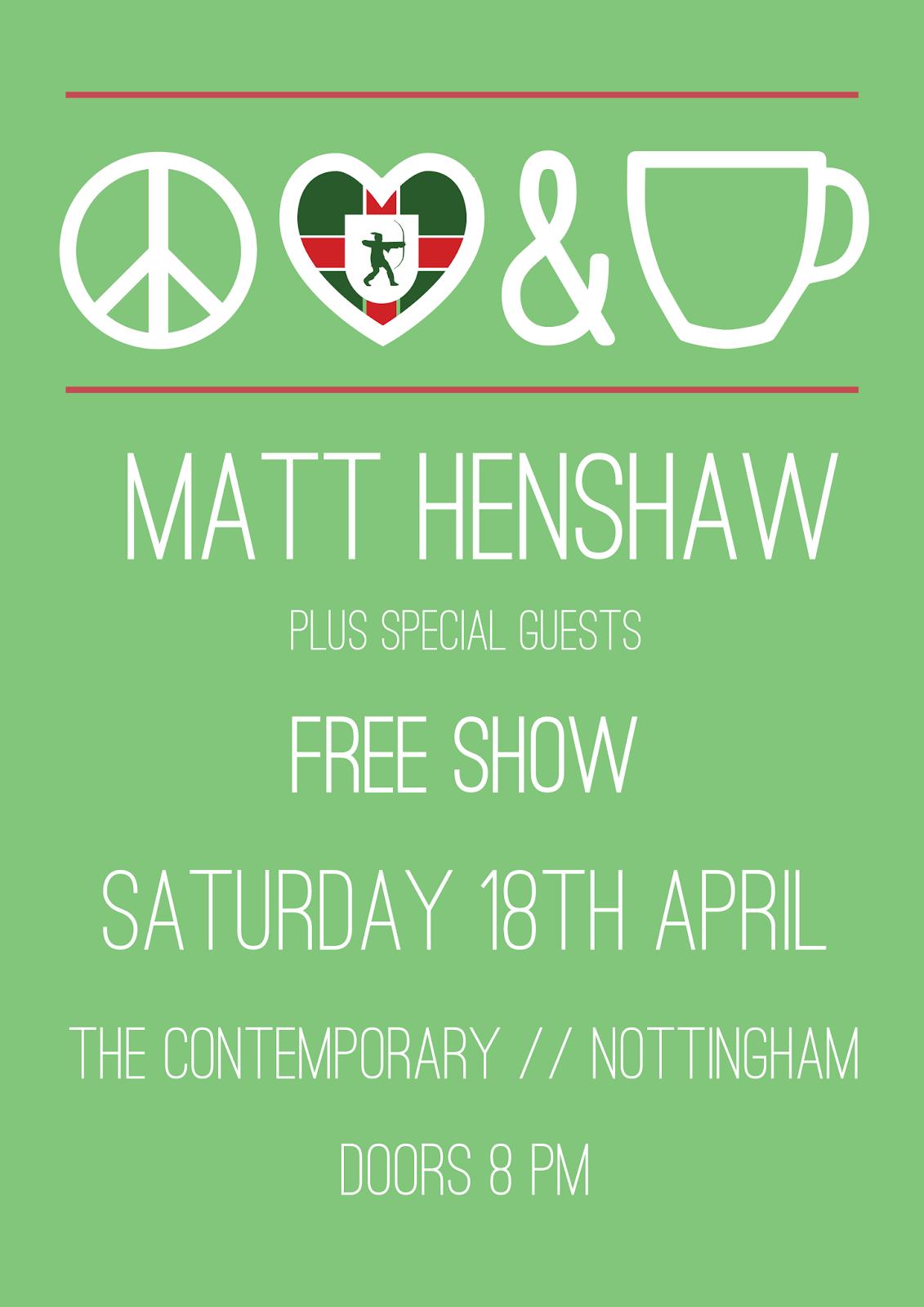 matt henshaw live in nottingham