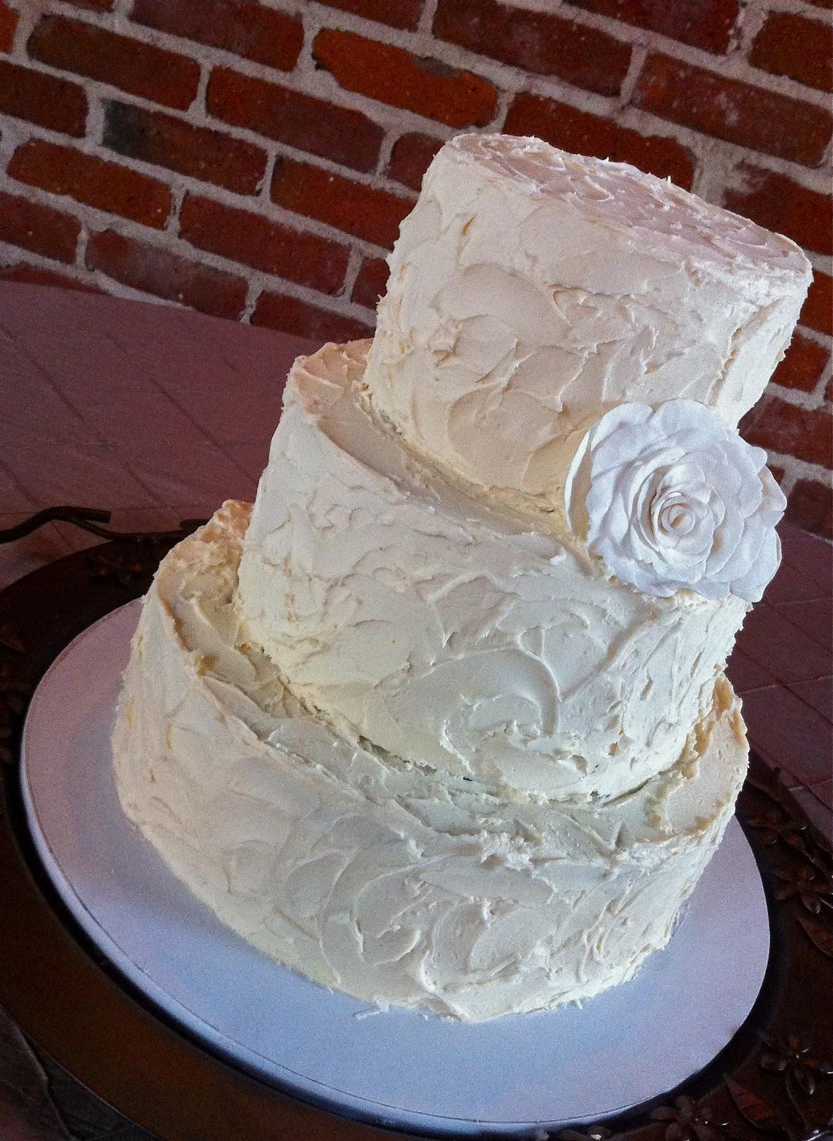 Wedding Cake On August 11th 2012