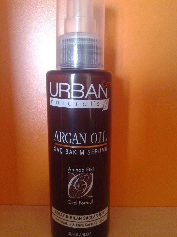 urban care argan yagli sac serumu
