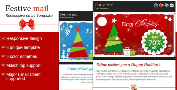 Festive2 – Christmas Newsletter Template