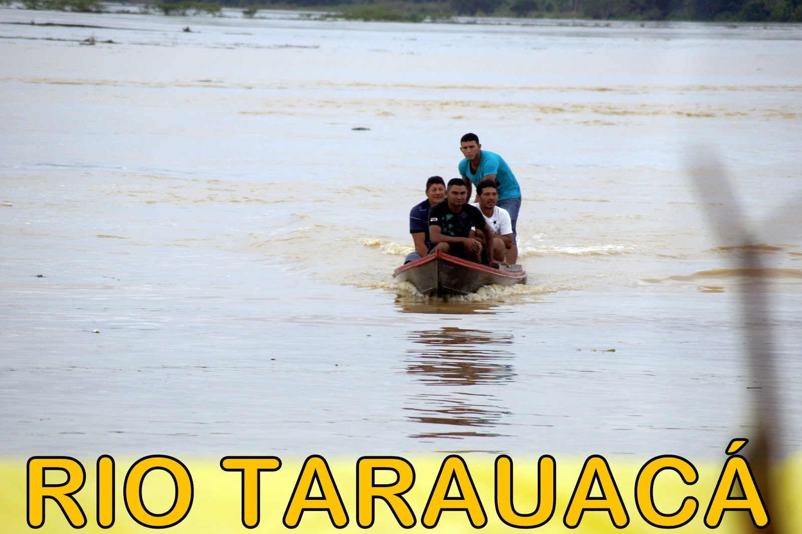 Tarauacá: Cidade amanhece literalmente debaixo d'água