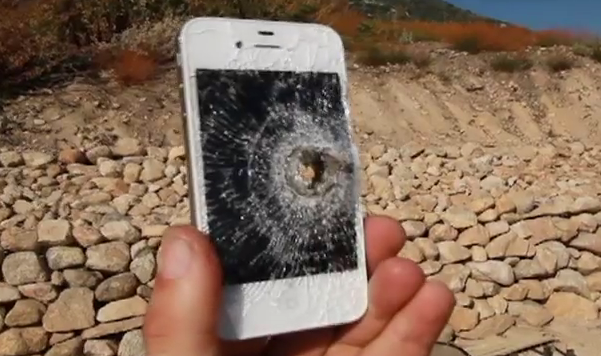 Telefones com problema