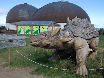 Euoplocephalus, dinosaurio, museo, jurásico, Colunga