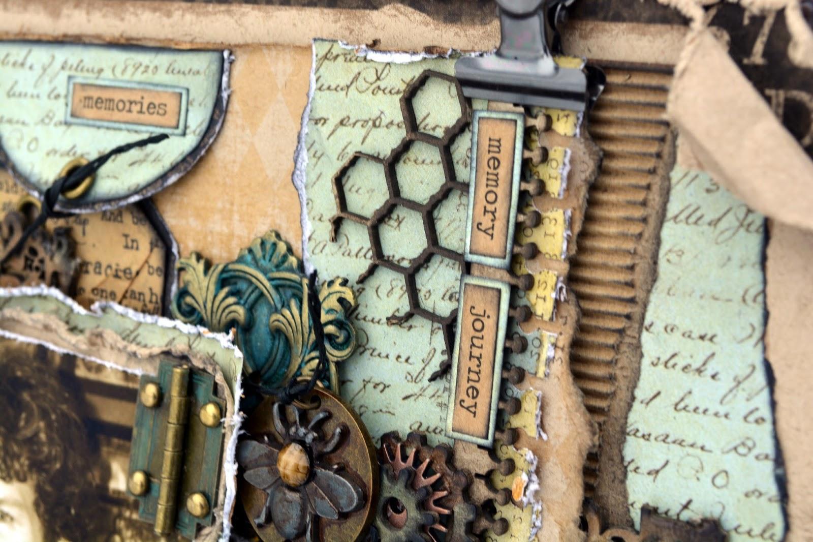 The Dusty Attic Blog Smile Canvas Rachelle Sigurdson