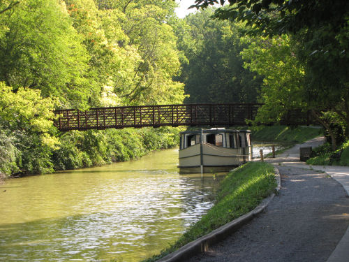 Miami Erie canal boat