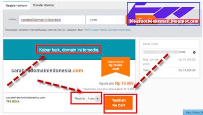 com sehingga akan terkesan lebih profesional dan berdikari Panduan Cara Beli Domain Murah .Com Indonesia untuk Pemula