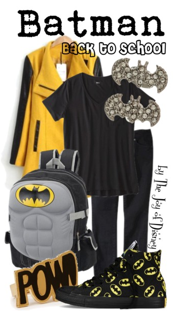 batman, dc comics, batman costume, batman sneakers, back to school outfits, school fashion