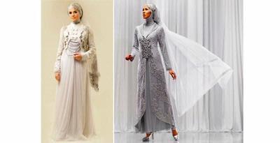 Gaun Pengantin Muslim Kini Lebih Elegan