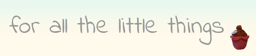 for all the little things